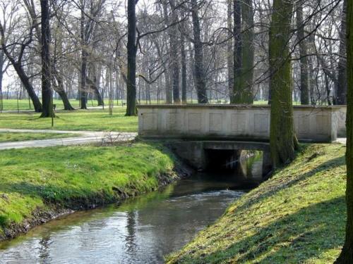 park brochowski mostek